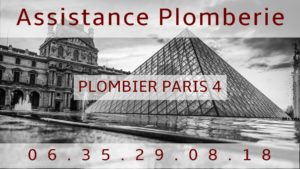 Plombier Paris 4