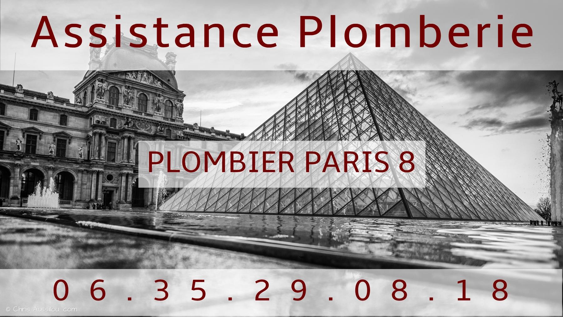 Plombier Paris 8