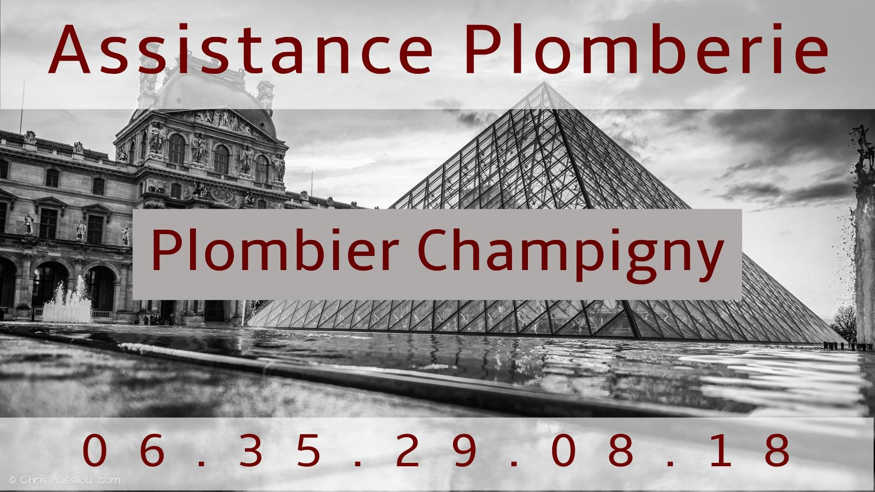 Plombier Champigny