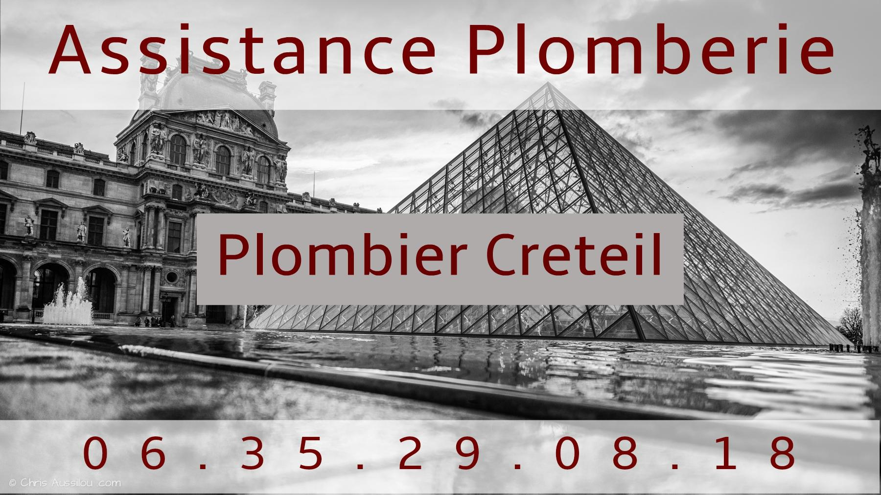 Plombier Creteil