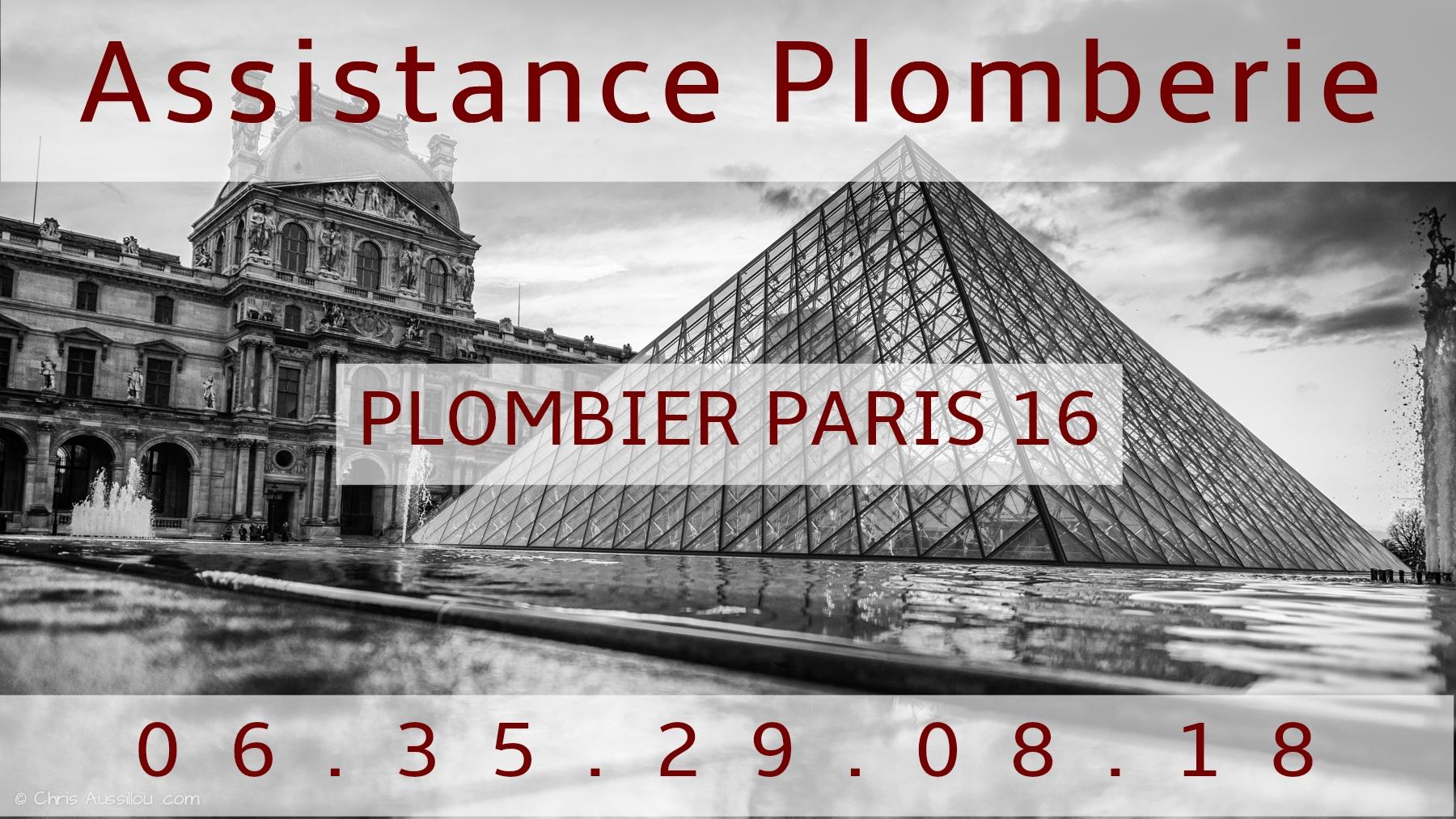Plombier Paris 16